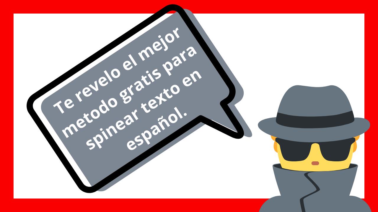 Como espinear texto gratis en español.