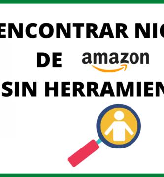 Como encontrar nichos para Amazon afiliados