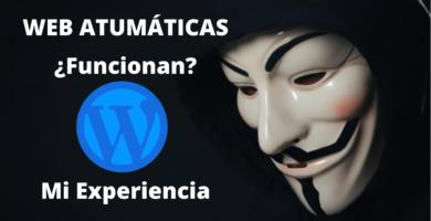 webs automaticas
