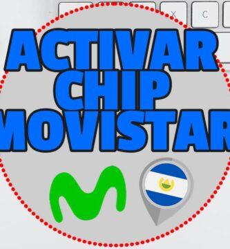 Activar chip MOVISTAR El Salvador