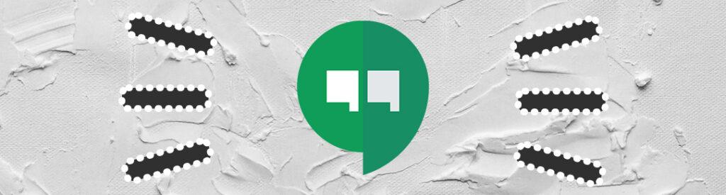 apps para hacer videollamadas Hangouts