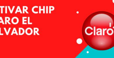 Activar chip claro el salvador
