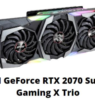 Tarjeta Gráfica MSI GeForce RTX 2070 Super Gaming X Trio