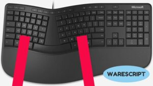 teclado ergonomicos warescript Tipos de Teclados