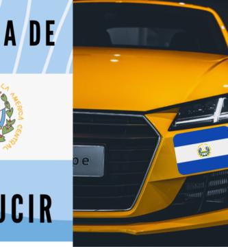 ¿Como sacar la licencia de conducir en El Salvador?